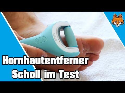 Hornhautentferner scholl velvet Smooth Wet & Dry  - Bimsstein Alternative 👣