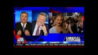 Hannity mocks Chrissy Teigen, then boasts he