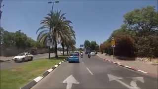 preview picture of video 'רחובות אברהם שלונסקי וקקל - תל אביב - Avraham Shlonsky and KKL Road - Tel Aviv'