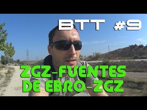 Ruta bici Zaragoza-Fuentes de Ebro-Zaragoza BTT #9