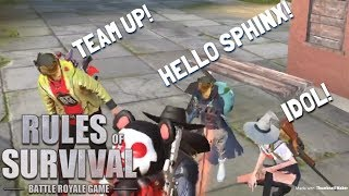 SOLO-FIRETEAM (FUNNY TEAM UP!) - Rules of Survival (Tagalog)