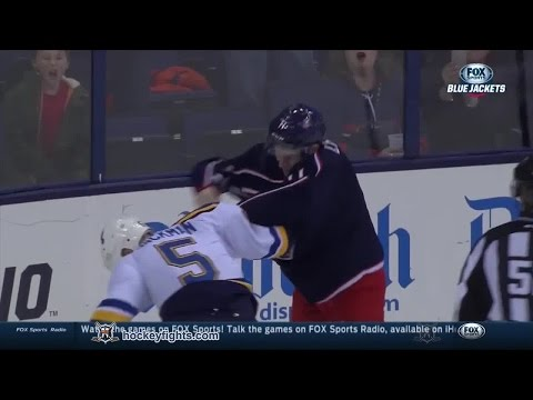 Matt Calvert vs. Barret Jackman