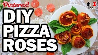 DIY PIZZA ROSES - Man Vs Valentines Day #108