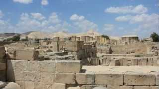preview picture of video 'Hishams Palace in Jericho, Palestine قصر هشام في أريحا، فلسطين'