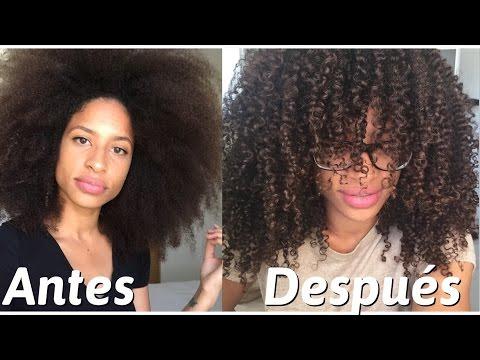 Aceite de COCINA en el cabello | FRIZZYDESI