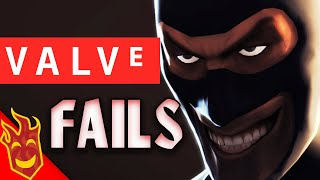 Top Ten Valve FAILS