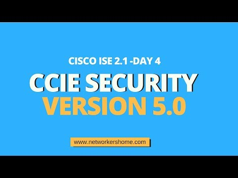 CCIE Security Training ISE Day 4 - YouTube