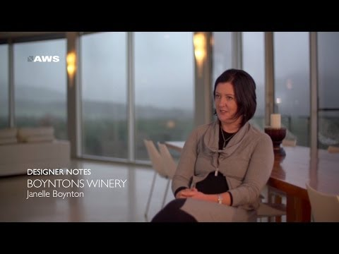 AWS Designer Notes - Boyntons Winery - Janelle Boynton