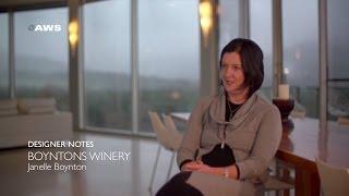 Designer Notes, Boyntons Winery - Janelle Boynton