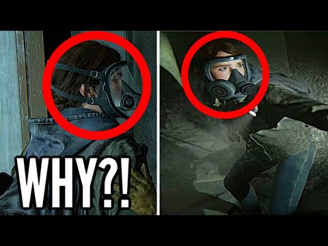 WHY ELLIE WORE A MASK - THE LAST OF US 2