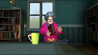 Scary Teacher 3D | Place a Spider in her favourite book | Game Play