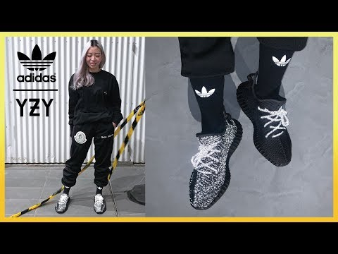 YEEZY 350 V2 BLACK Reflective VS Non-Reflective | Review + On Feet
