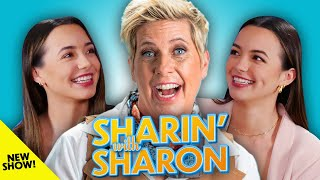 The Merrell Twins | Sharin' With Sharon (NEW SHOW!)