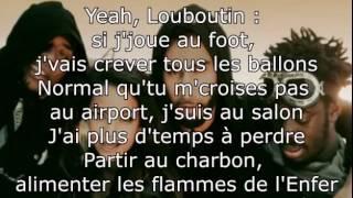 Team Bs La Fouine, Sindy, Sultan, Fababy Lyrics