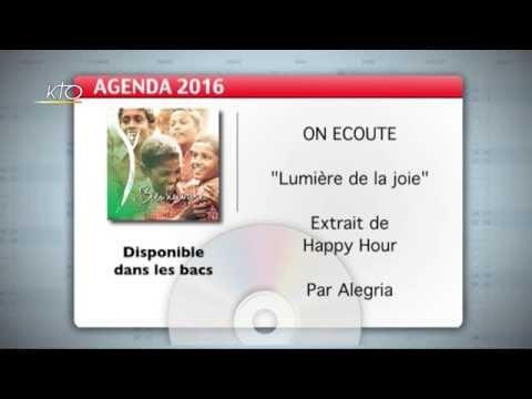 Agenda du 16 septembre 2016