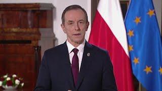 """Marszałek Senatu wygłosił orędzie w obronie wolnych mediów. """"Stawką jest prawda"""""""