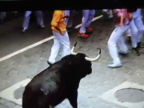 Bull Run 12.07.2013 { Pamplona } 6 Rep