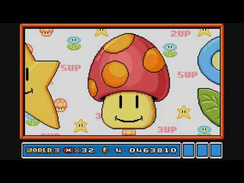 Super Mario Advance 4: Super Mario Bros  3 Walkthrough