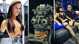 10 Роботов и Андроидов, пугающе похожих на людей!