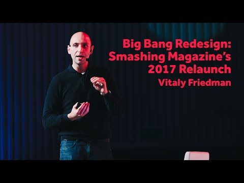 Big Bang Redesign: Smashing Magazine's 2017 Relaunch