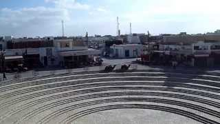 preview picture of video 'Brilliant HD view of El Djem from this huge Roman amphitheatre in wonderful Tunisia'