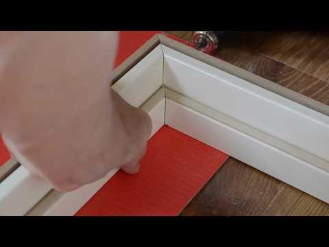 Сборка и установка межкомнатных дверей.