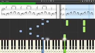 Richard Clayderman - LA VIE EN ROSE - Piano tutorial and cover (Sheets + MIDI)