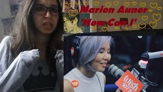 Marion Aunor performs 'How Can I' LIVE _ REACTION