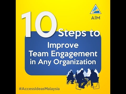 10 Steps to Employee Engagement (AIM)