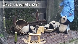 What A Naughty Kid!   iPanda