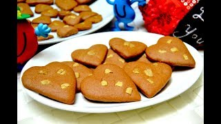 Easy Cookies Recipe|Beetroot Choco Cookies for Valentines day