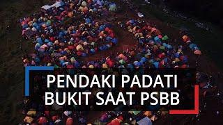 Viral Foto Bukit Alas Bandawasa Bogor Padat Pendaki saat Pendemi Covid-19, Ratusan Tenda Berkerumun