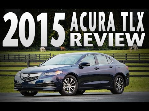 Review: 2015 Acura TLX, Test Drive, Specifications, Features