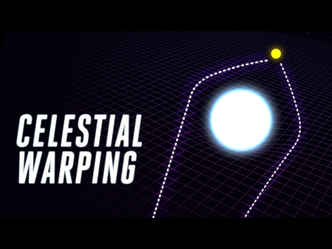 Astronomers spot celestial warping that Einstein thought we'd never see