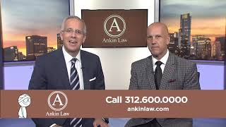 David Kaplan of Sports Talk Live in Ankin Law Commercial