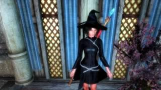 skyrim dress mod: Имперское платье с физикой HDT Empire Coat   HDT