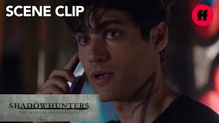 Shadowhunters | Season 1, Episode 5: Alec & Magnus Talk on the Phone