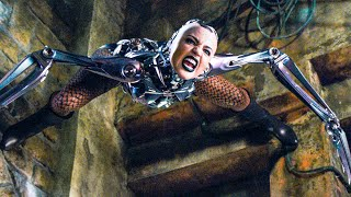 Android Fight in the Valley Scene - ALITA: BATTLE ANGEL (2019) Movie Clip