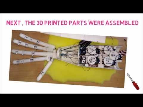 Anthropomorphic Robotic Hand