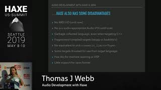 Audio Development with Haxe - Thomas J Webb