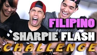 FILIPINO SHARPIE FLASH CHALLENGE! ft. DTRIX