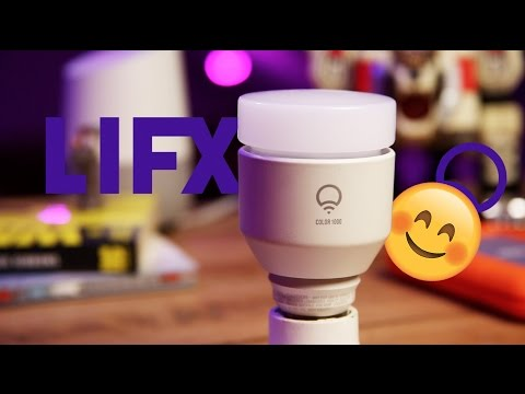 I Bought 18 SMART LIGHTS!! LifX Lights Review