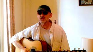 Jim Bruce Blues Guitar - Truckin' Little Baby - Blind Boy Fuller Cover