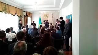 Вопросы акиму г.Талдыкорган. Нұр Отан. 2018 год.