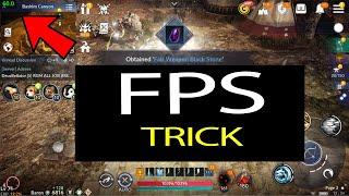 Black Desert Mobile FPS Trick