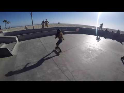Vianez Summer fun @venice skatepark