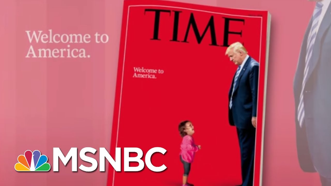 Time Reveals 'Welcome To America.' Cover | Morning Joe | MSNBC thumbnail