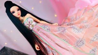 Painting BJD Fairyland Minifee Chloe & Jade Rabbit Tang Dynasty Clothing Angell Studio, OOAK Collab