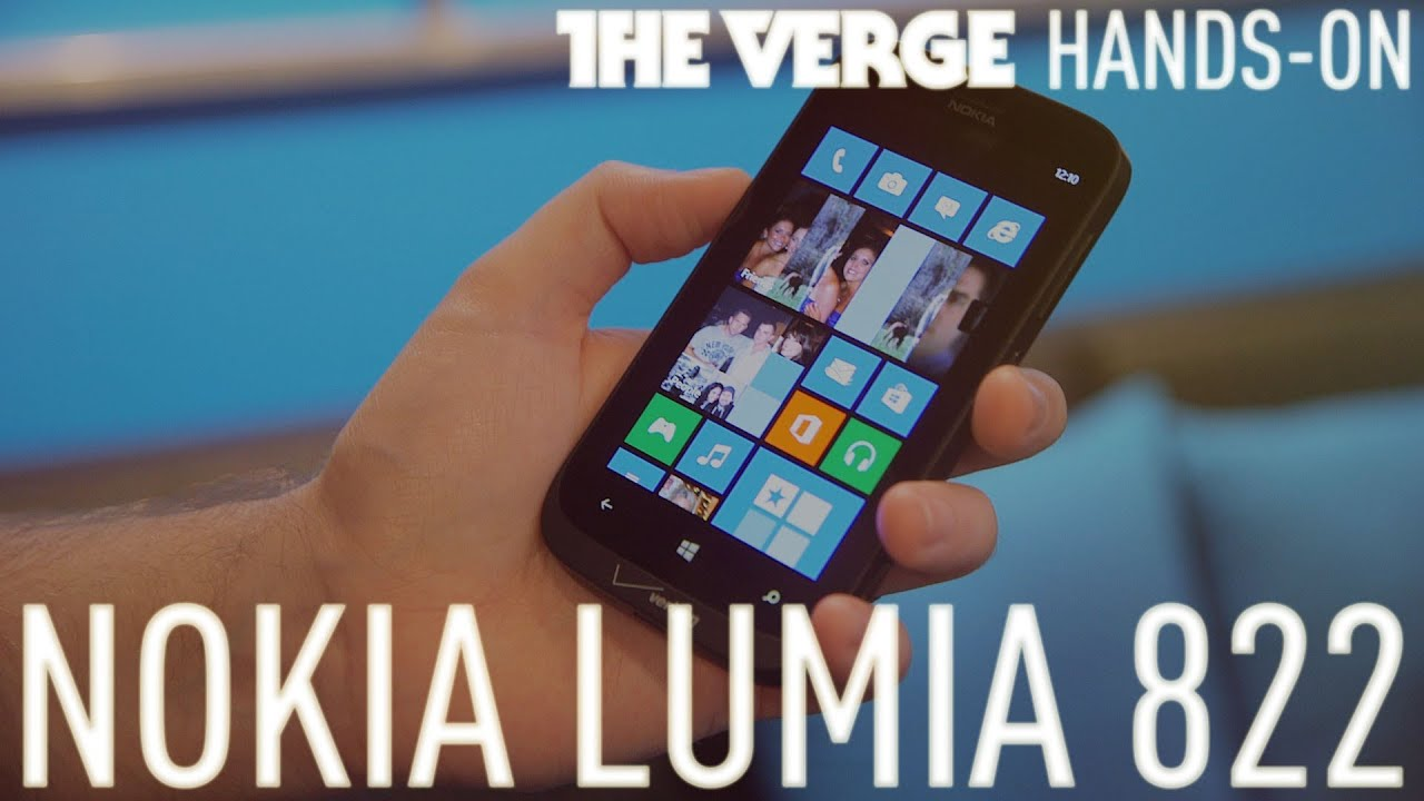 Nokia Lumia 822 hands-on thumbnail