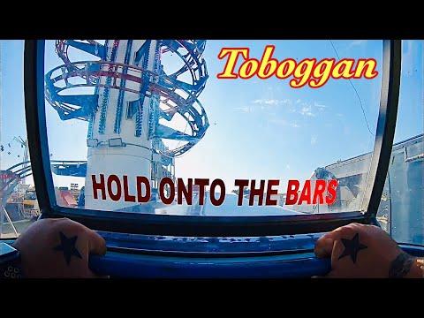 Toboggan (Roller Coaster) On Ride POV's HD GoPro